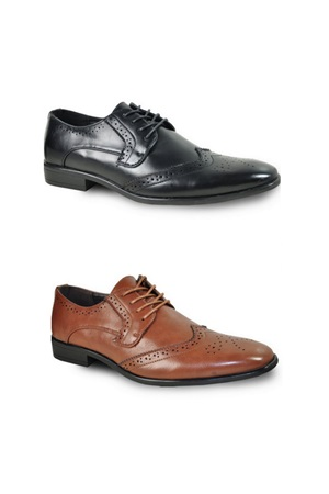 Wingtip Oxford Dress Shoes