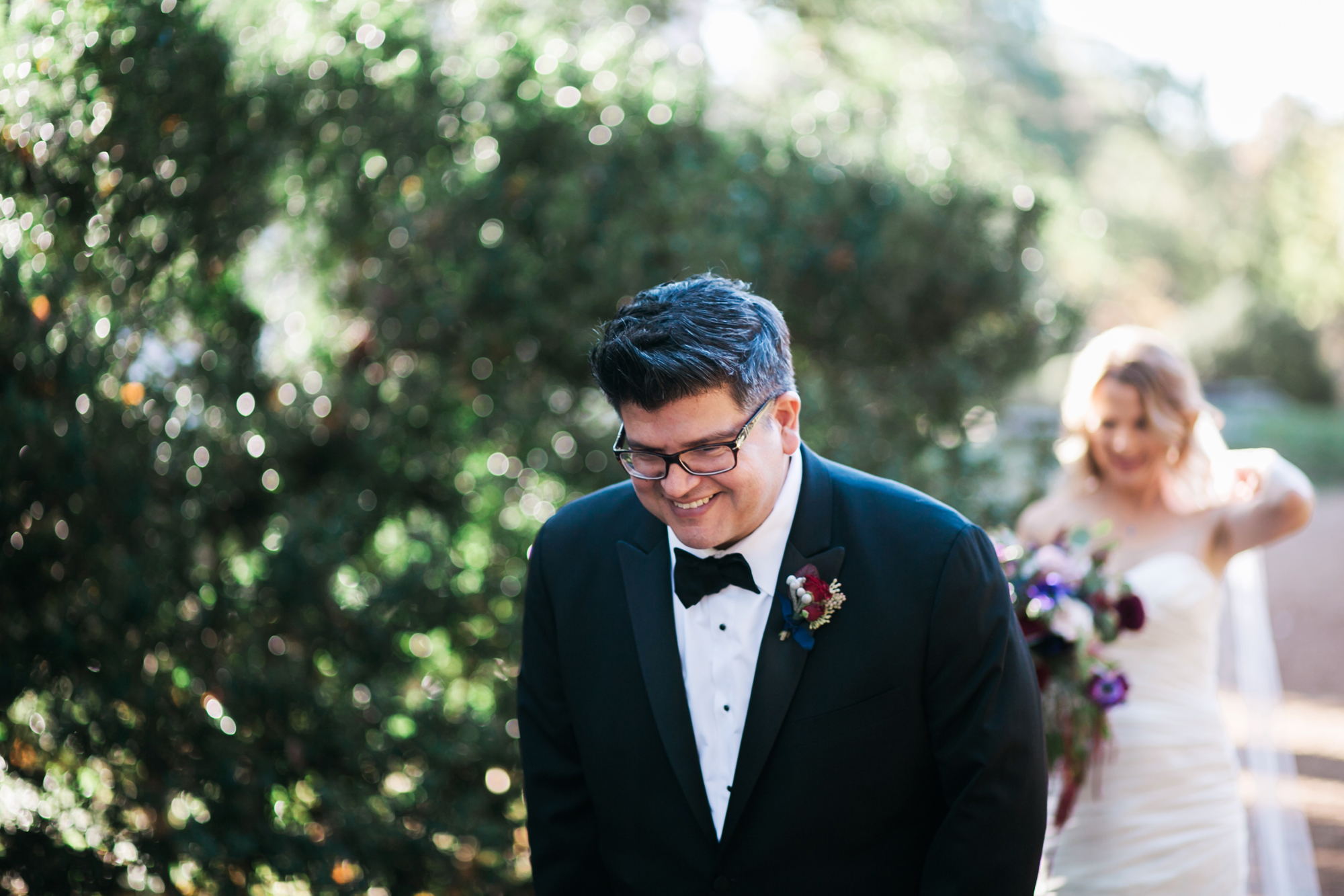 A Black Tie Affair - Real Wedding by Jen and Chris Creed Photography