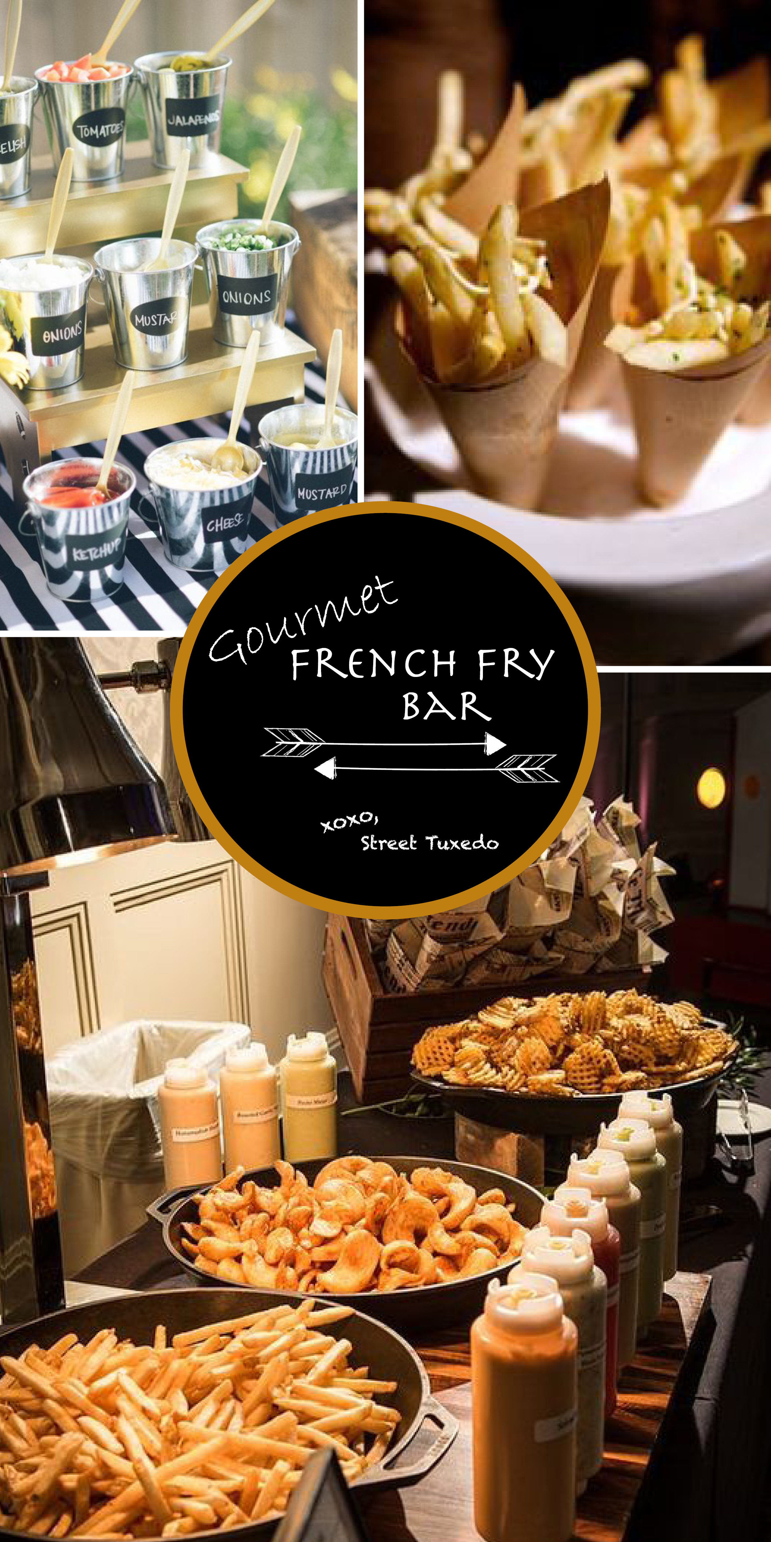Gourmet French Fry Bar