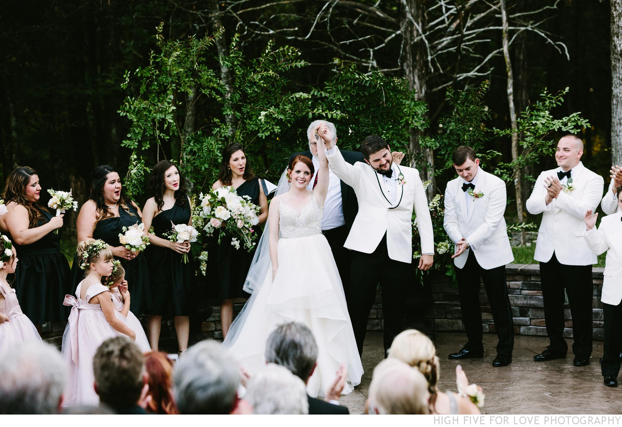 Street tuxedo black tie wedding in the woods black tie wedding junglespirit Image collections