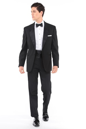 Classic Black Tuxedo Modern Fit