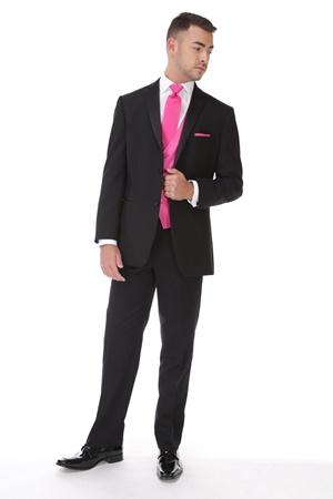 Slim Fit Black Tuxedo
