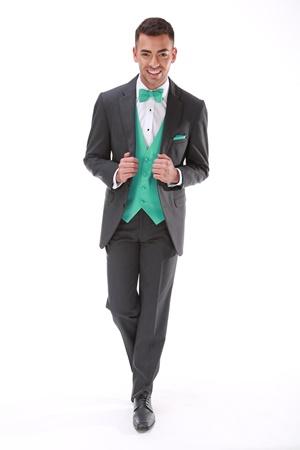 Steel Grey Tuxedo Modern Fit