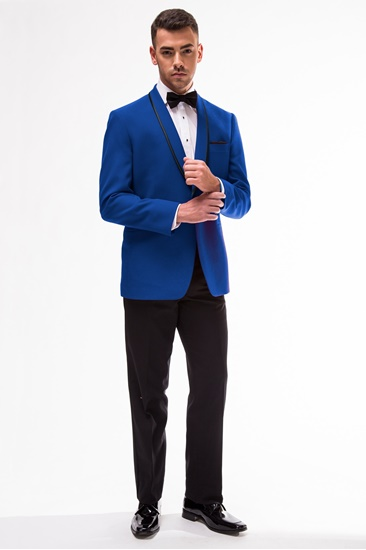 Royal Blue Shawl