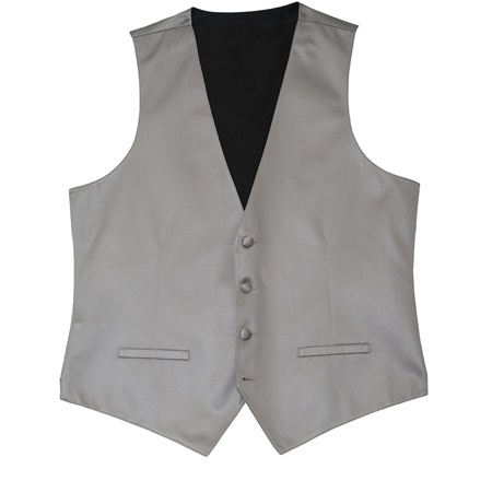 Smoke Modern Solid Vest