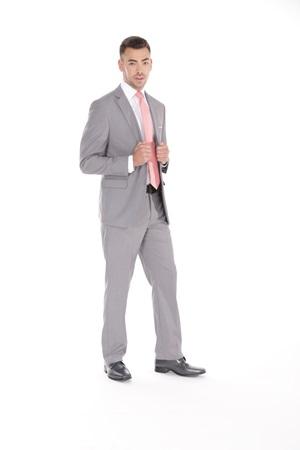 Light Gray Retail Suit