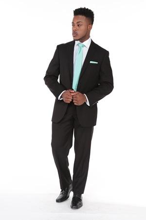 Black Retail Suit