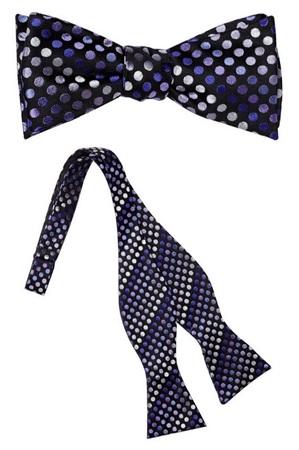 Yesler Silk Self Tie Bow Tie