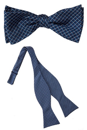Jackson Silk Self Tie Bow Tie