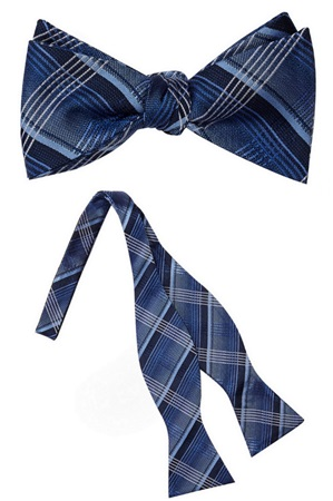 Columbia Silk Self Tie Bow Tie