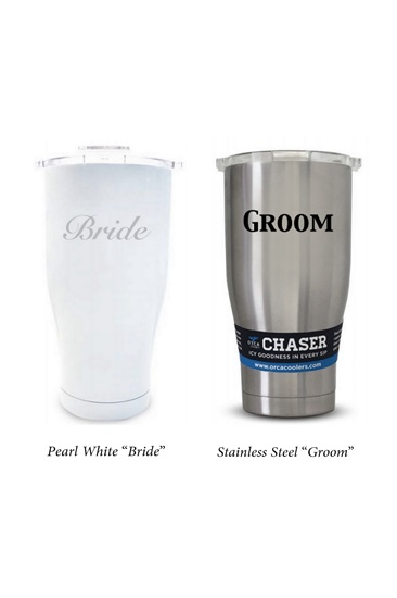 ORCA Bride and Groom Chaser Set