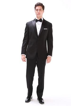 Black Slim-Fit Tuxedo