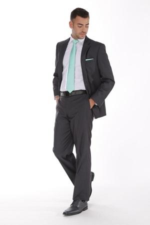 Dark Gray Suit