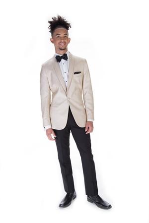 Remi gold Tuxedo jacket