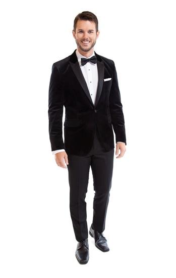 Black Velvet Luxor, Velvet Tuxedo, Tuxedo Rental, Street Tuxedo, Select Formalwear