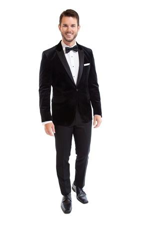 Black Velvet Luxor, Velvet Tuxedo Coat, Tuxedo Rental, Street Tuxedo